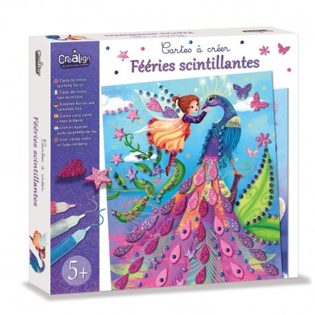 """Cards to create """"Sparkling Fairies"""""""