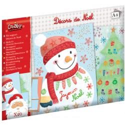 """Kit Supports feuilles """"Décors de Noël"""""""