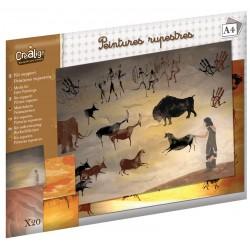 """Media kit """"Cave Paintings"""""""