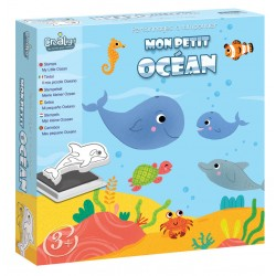 Foam stamp set : Ocean