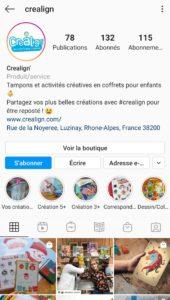 Instagram Créa Lign'