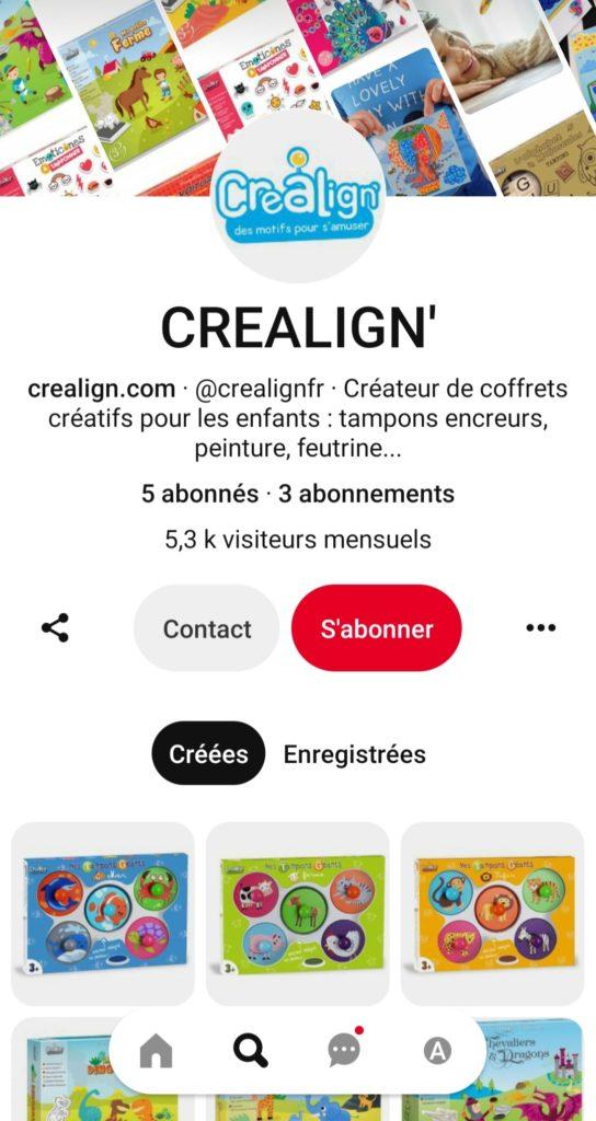 Pinterest Créa Lign'